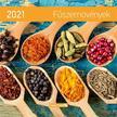 17255 - Fűszernövények Falinaptár lemez közepes - 2021