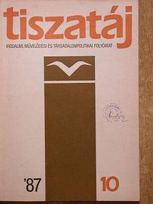 A. Sajti Enikő - Tiszatáj 1987. október [antikvár]