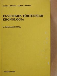 Csató Tamás - Egyetemes történelmi kronológia I-II. [antikvár]