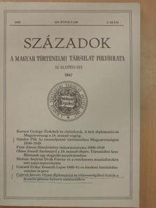 Bél Mátyás - Századok 1995/2. [antikvár]
