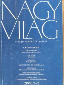 Abádi Nagy Zoltán - Nagyvilág 1981-1982., 1988., 1999-2000. (vegyes számok) (11 szám) [antikvár]