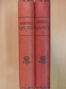 Alessandro Manzoni - A jegyesek I-II. [antikvár]