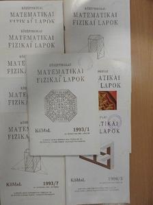 Fried Ervin - Középiskolai matematikai és fizikai lapok 1993. január-december [antikvár]