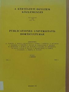 Ahmed Ajouka - A Kertészeti Egyetem Közleményei 1976/8. [antikvár]
