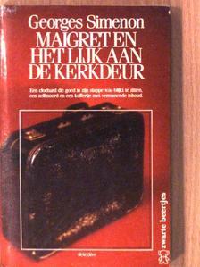 Georges Simenon - Maigret en het lijk aan de kerkdeur [antikvár]