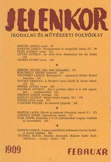 Csordás Gábor - Jelenkor 1989. február [antikvár]