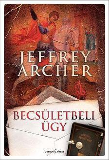 Jeffrey Archer - Becsületbeli ügy [antikvár]