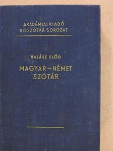 Halász Előd - Magyar-német szótár [antikvár]