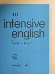 Inkei Péter - TIT intensive English - Student's Book II. [antikvár]