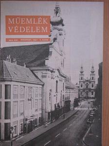 Bodor Imre - Műemlékvédelem 1981/4. [antikvár]