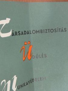 Bérczi Béla - Társadalombiztosítás, üdülés, munkavédelem 1966. november-december [antikvár]