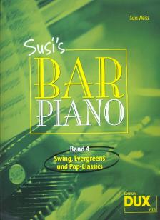 SUSI`S BAR PIANO BAND 4: SWING, EVERGREENS UND POP-CLASSICS (SUSI WEISS)