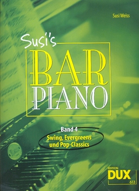SUSI`S BAR PIANO BAND 4: SWING, EVERGREENS UND POP-CLASSICS (SUSI WEISS)