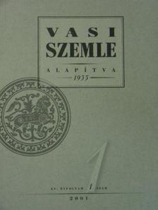 Balogh Jánosné - Vasi Szemle 2001/1-6. [antikvár]