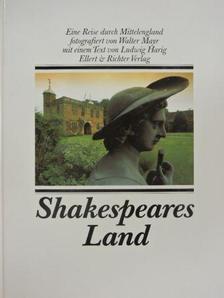 Ludwig Harig - Shakespeares Land [antikvár]