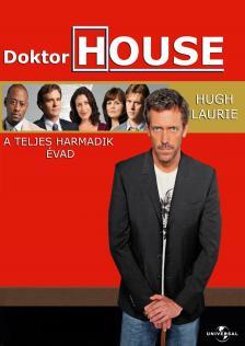 DOKTOR HOUSE A TELJES HARMADIK ÉVAD DVD