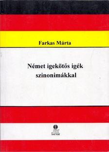 Farkas Márta - Német igekötős igék szinonimákkal [antikvár]