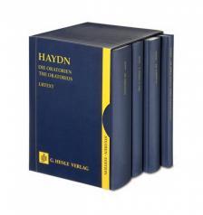 HAYDN J. - DIE ORATORIEN STUDIENPARTITUR URTEXT 4 BAENDE LEINEN