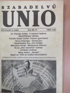 Bartos Aranka - Szabadelvű unio 1990. nyár [antikvár]