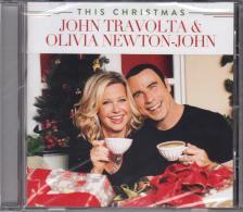 THIS CHRISTMAS CD JOHN TRAVOLTA, OLIVIA NEWTON-JOHN