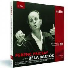BARTÓK - FRICSAY CONDUCTS BARTÓK 3CD