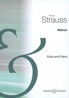 STRAUSS RICHARD - MALVEN. VOICE AND PIANO