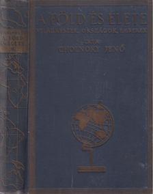 Cholnoky Jenő - A Föld és élete II. - Ázsia [antikvár]