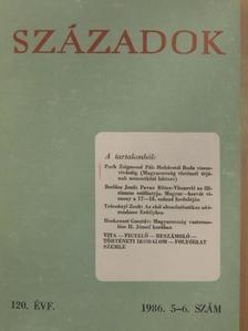 Balás Gábor - Századok 1986/5-6. [antikvár]
