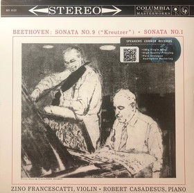 BEETHOVEN - SONATA NO.9 LP