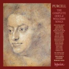 PURCELL - THE COMPLETE ODES AND WELCOME SONGS 8CD ROBERT KING