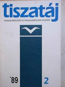 B. Nádor Orsolya - Tiszatáj 1989. február [antikvár]