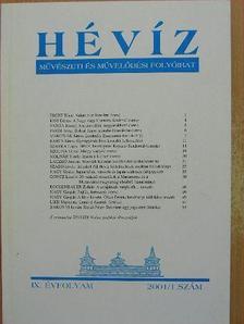 Alex Epstein - Hévíz 2001/1. [antikvár]