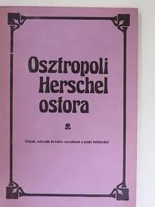 Hajdu István - Osztropoli Herschel ostora [antikvár]