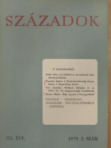 Bellér Béla - Századok 1979/2. [antikvár]