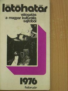 Aczél György - Látóhatár 1976. február [antikvár]