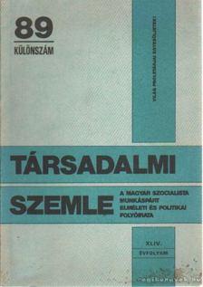 Radics Katalin - Társadalmi szemle 89 különszám [antikvár]