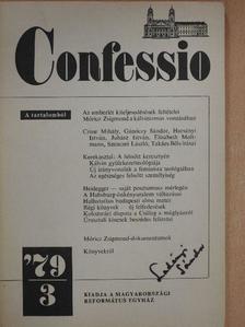 Bogárdi Szabó István - Confessio 1979/3. [antikvár]