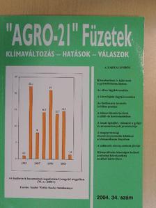 """Bernáth Jenő - """"AGRO-21"""" Füzetek 2004/34. [antikvár]"""