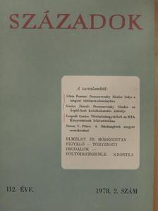 Csapodi Csaba - Századok 1978/2. [antikvár]