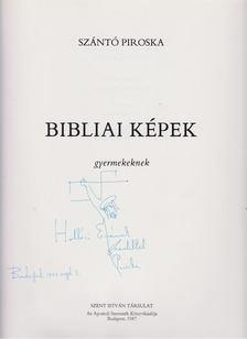 Szántó Piroska - Bibliai képek gyermekeknek [antikvár]