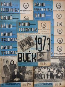 Lóska Péter - Rádiótechnika 1973. január-december [antikvár]