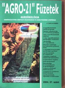 """Ábrahám Rita - """"AGRO-21"""" Füzetek 2004/37. [antikvár]"""