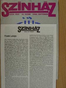 Bérczes László - Színház 1998. október [antikvár]