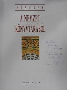 Belitska-Scholtz Hedvig - Kincsek a nemzet könyvtárából (dedikált példány) [antikvár]