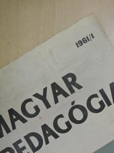 Jausz Béla - Magyar Pedagógia 1961/1. [antikvár]