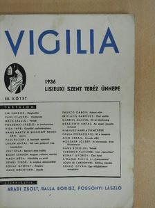 Bálint Sándor - Vigilia 1936. Lisieuxi Szent Teréz ünnepe III. (töredék) [antikvár]