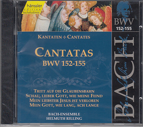 Bach - CANTATAS BWV 152-155 CD RILLING, GECHINGER KANTOREI