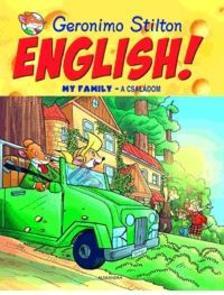 Geronimo Stilton - English! My Family - A családom