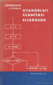 OBÁDOVICS J. GYULA - Gyakorlati számítási eljárások [antikvár]