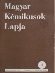 Andrásfay Ernő - Magyar Kémikusok Lapja 1960. január-december [antikvár]